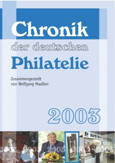 Chronik der deutschen Philatelie 2003